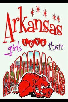 I do love the Razorbacks! Razorback Baby, Arkansas Razorbacks, Hogs Football, Woo Pig Sooie, University Of Arkansas, Praise The Lords, Spirit Shirts, Sports Teams, Bead Crafts