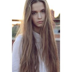 Very Long Blonde Hair Hair Colors Ideas ❤ liked on Polyvore