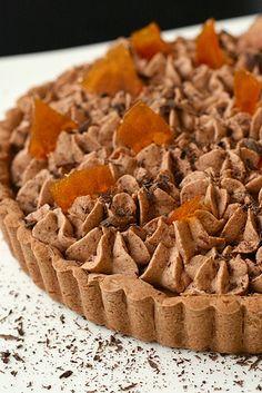 AE Chocolate Mousse and Caramel Tart