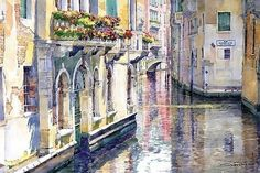 Architecture Painting - Italy Venice Midday by Yuriy Shevchuk Ukrainian Art, Italian Artist, Paintings For Sale, Art Paintings, Landscape Paintings, Beautiful Paintings, Fine Art America, Decoupage, Poster Prints