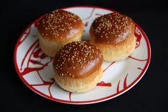 Pan para hamburguesas o hot dog (perritos) - Las recetas de Mabel Mendez