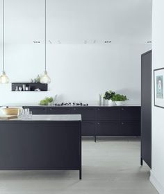 VIPP KITCHEN - This is the home of Morten Woldum, the Product Development Director at Vipp and his wife - via cocolapinedesign.com