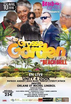 La Grosse Garden Vous aussi intégrez vos événements dans l'Agenda des Sorties de www.bellemartinique.com C'est GRATUIT !  #martinique #Antilles #domtom #outremer #concert #agenda #sortie #soiree
