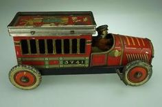 Antique Candy Container Truck Pre War Japan Wind Up Action Made in Japan PA704 | eBay
