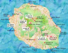 La Réunion : un road trip idéal de 2 semaines Honeymoon On A Budget, Honeymoon Fund, Honeymoon Packages, Romantic Honeymoon, Honeymoon Ideas, Travel Route, Travel Usa, Voyage Reunion, Writing Posters