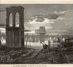 roebling brooklyn bridge - Recherche Google