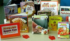 Apple Theme | Books about apples are on display, just in time for Two Rivers' Applefest in the fall.