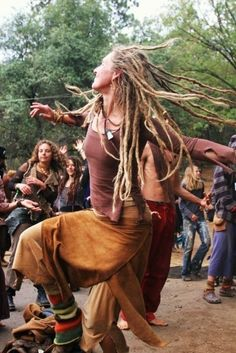 dancing is more fun with wild locks.  They fly and whip and dance too.