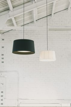 Shop Pendant Light by Santa & Cole. Pendant, Wall, Ceiling Lights and Floor and Table Lamps. Contemporary and historic lighting by Spanish and internationally recognized designers. Room Lights, Ceiling Lights, Santa Cole, Raw Color, Satin, Black Lamps, Light Texture, Interior Lighting, House Lighting