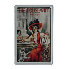 Cuadro de metal impreso vintage HOUSEWIFE 20x30-