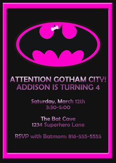 batgirl invitations | Posted in Uncategorized | Leave a Comment »
