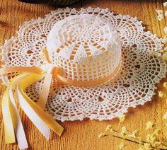 """Superbes chapeaux , ornés de rubans , de fleurs , trouvés dans la Galerie Picasa de"""" Gitte Andersen """" , avec ses grilles gratuites ! Clic sur la grille pour l'agrandir Clic sur les grilles pour les agrandir"""