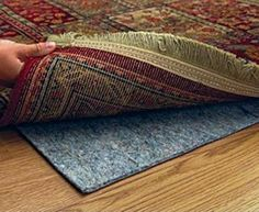Ultra Plush Rug Pad (9' x 12') For Carpet Or Hard Surfaces by Area Rug World. Save 55 Off!. $76.99. Made Of Carpet Fibers With A Rubber Backing. Provides Safety & Noise Reduction. Excellent Gripping And Rebound Capability. Easily Trimmed To Fit Specific Sizes. Designed For Carpet Or Over Hard Surfaces. Rug Pads are an essential support system for any area rug. Contrary to popular belief area rugs wear from the bottom up. Rug pads act with several different functions, all at an ...