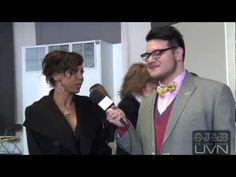 We interview Mike & Molly actress Holly Robinson-Peete inside the fashion week tents #MBFW #NYFW #Fashion