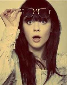 zooey. being awesome. per usual