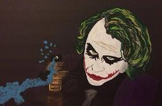 Title  Why So Serious?   Artist  Surbhi Grover   Medium  Painting - Acrylics