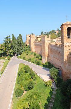 Castello di Gradara, Marche, Italy