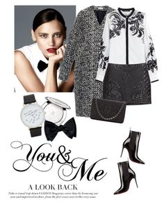 """You&Me"" by lera-chyzh ❤ liked on Polyvore featuring Balenciaga, Roberto Cavalli, H&M, Chanel, Guerlain, ALDO, women's clothing, women's fashion, women and female"