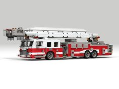 I know the fire truck is a little bit of an obvious choice for a Lego idea, but as far as I can see, there has never been a large scale creator set of a truly impressive looki...