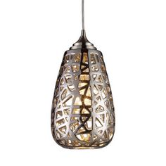 Confetti Chrome Pendant Light