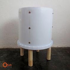Ohoh Blog - manualidades y bricolaje: DIY le hacen un taburete con cubo # 1