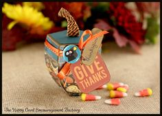 The Happy Card Encouragement Factory: Give Thanks
