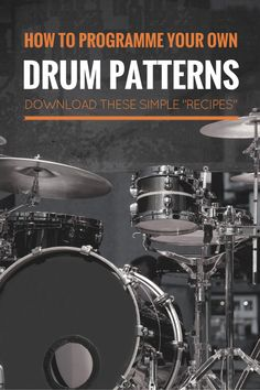 How students can create and record their own drum patterns in music software and apps like GarageBand, Soundtrap, Mixcraft, on iPad. Cable Drum Table, Drum Patterns, Music Software, Drum Lessons, Music Lessons, Drum Machine, Music Classroom, Music Education, Music Stuff