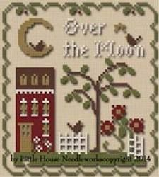 Sun Moon and Stars -Over the Moon - Mary Janes Cross and Stitch