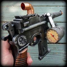 Steampunk Gun Toy Gauge Airsoft BB Zombie Mauser Broomhandle C96 Diesel Punk G6 | eBay