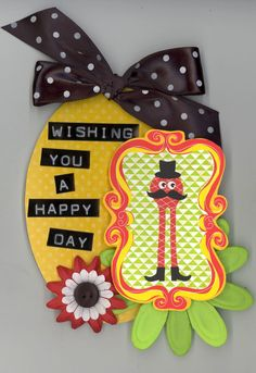 Crafty Polly Tag. Happy Day Monster Tag - Scrapbook.com