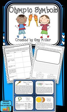 Free Olympic Games Activities including  > 12 Trivia Cards Detailing Facts about Olympic Symbols > Making Inferences  > Creating an Olympic Mascot  > Designing an Olympic Award > Inventing an Olympic Motto