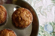 Raisin bran muffins @ joy the baker
