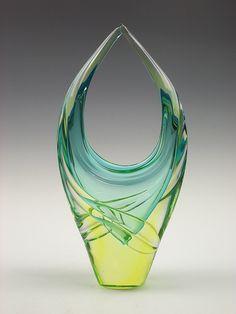 Murano sommerso glass vase | Flickr - Photo Sharing!