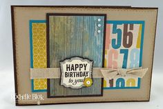 The Stamping Blok: Soho Subway Lunch Party Sample 2 By Rochelle Blok
