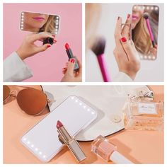 Released in June and sold out within days and she is FINALLY BACK TODAY woohoo!! Your very own personal lighting for on the go. Fits easily in your purse for travel amd has multiple light settings. Snag yours before she's gone again. Find her on my link under tools #mua #makeupaddict #beautytips #lighting #feelpretty Makeup Finishing Spray, Travel Purse, Natural Cosmetics, Professional Makeup, Makeup Addict, Natural Skin Care, Beauty Hacks, June, Tools