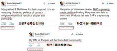 Various shades of communal Arvind Kejriwal  #arvindkejriwal #AAP #dirtypolitics #politics #corruption
