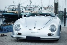 Porsche 356 Speedster At the Wharf - Fits Right In