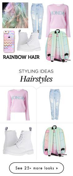 Outfit con colores unicornio