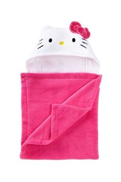 Hello Kitty Fleece Hooded Wrap Hello Kitty Baby, Kid Character, Children's Picture Books, Say Hello, To My Daughter, Little Girls, Sewing Projects, Fun Diy, Diy Stuff