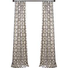 Ashford Curtain Panel By Half Price Drapes