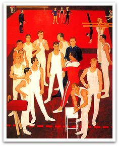 Dmitry Zhilinsky. USSR gymnasts/1964
