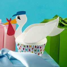 The Stork?s Special Bundle Cupcakes