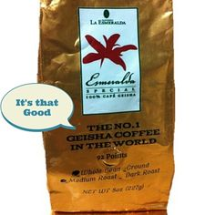 2016 Panama Geisha Coffee has a fantastic first impression. This is my Esmeralda Panama Geisha Coffee review. My first tasting results are in. Read it here► http://themorningcoffeecup.com/panama-geisha-coffee-review/