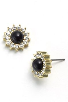 Turn Back Time With These 12 Vintage-Inspired Jewels - rhinestone starburst stud earrings