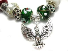 UWGB Phoenix Fans Celebrate your Pride and Cheer by MyTeamMyBeads