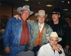 Don Collier, Henry Darrow, Ted Markham, Bob Hoy, High Chaparral Old Western Actors, Western Movies, The High Chaparral, Tv Westerns, Cowboy And Cowgirl, Good Old, Old Hollywood, Actors & Actresses, Movie Tv