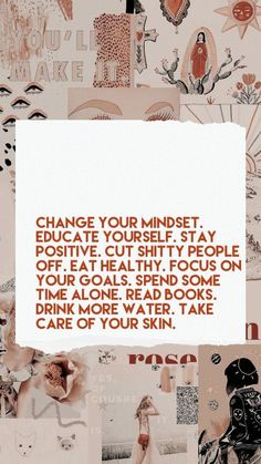 motivation Change your mindset. Educate yourselfChange your mindset. Educate yourself Self Love Quotes, Words Quotes, Quotes To Live By, Life Quotes, Story Quotes, Sayings, Family Quotes, Quotes Positive, Positive Vibes
