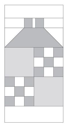 Moda Be My Neighbor Free Block Quilt Pattern Block 12