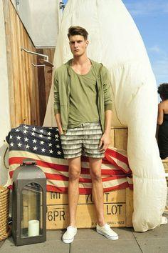 58492d32077 ... model Garrett Neff s venture into fashion