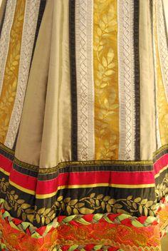 Festdrakt av Lise Skj k Br k Festdrakt av Lis Folk Costume, Costumes, Fashion History, Traditional Dresses, Folklore, Norway, Custom Made, Embroidery, Inspiration